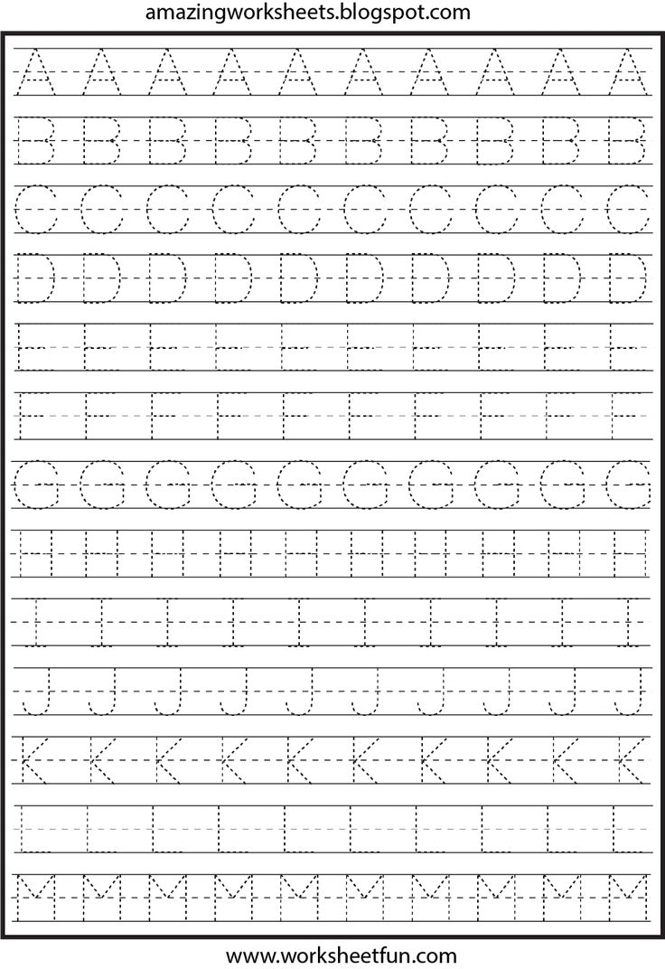 Free Worksheet Kindergarten Alphabet Tracing Worksheets 17 best ideas about letter tracing worksheets on pinterest and printable for kindergarten