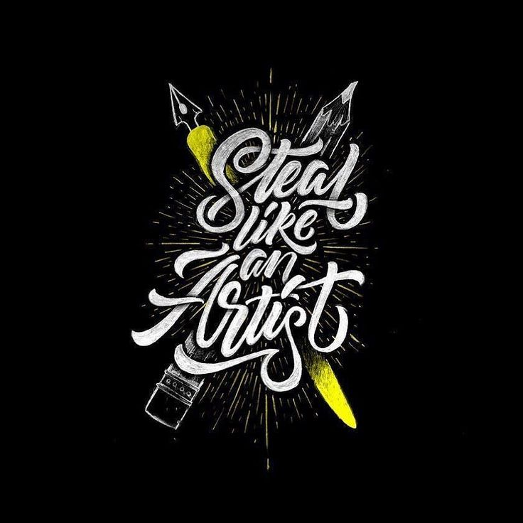17 best images about hand lettering on pinterest behance Difference between calligraphy and typography