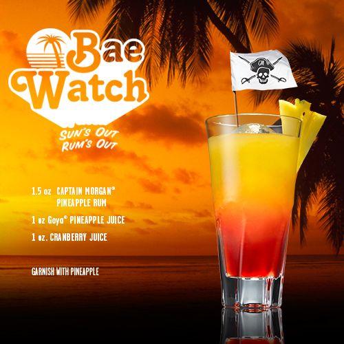 Captain Morgan Rum New tropical flavors and recipes