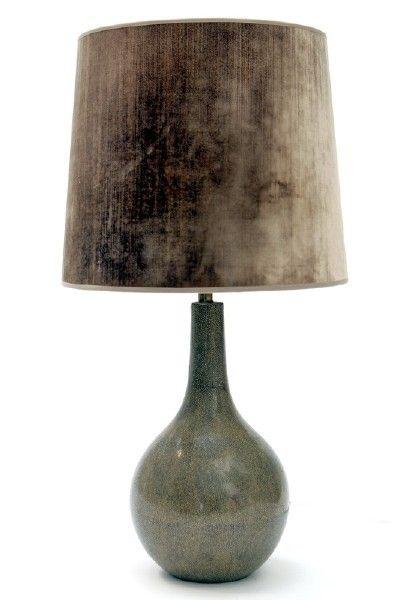 "Lampe, ""Faux Shagrin"""