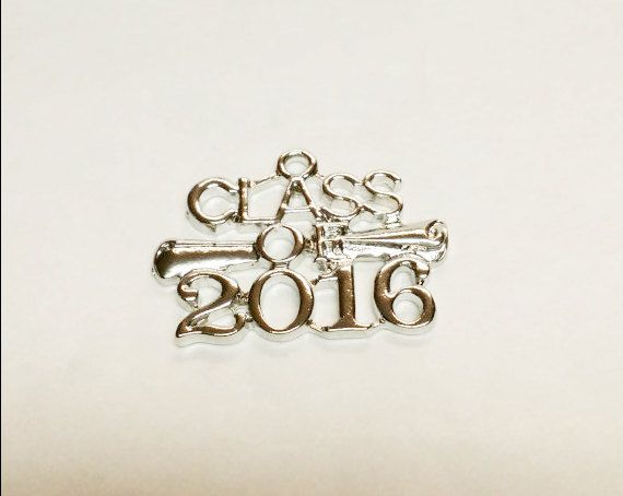 5 2016 Charms Class of 2016 Charms by VickysJewelrySupply on Etsy