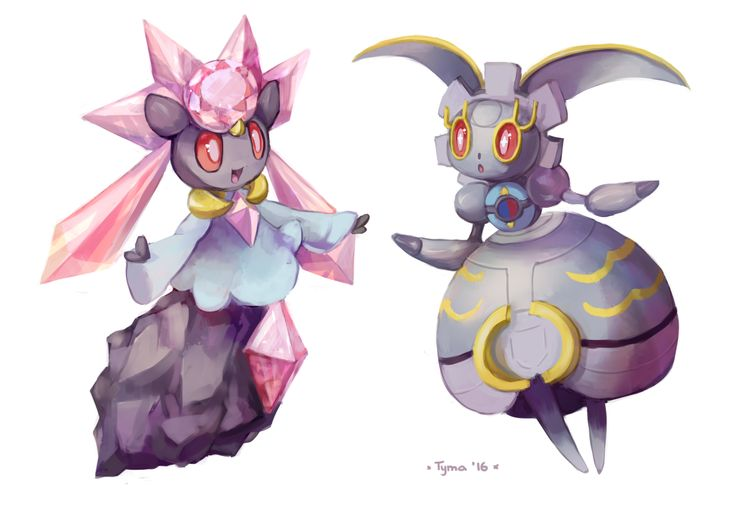 Diancie and Magearna