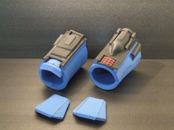 Mandalorian Bracer Beskar Gauntlet Template Vambracer Etsy In 2020 Eva Foam Armor Foam Armor Mandalorian