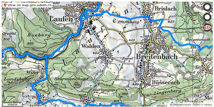 Wahlen BL Velowege Fahrrad velotour #mobil #routenplaner http://ift.tt/2wxUNXB #karten #mapOfSwitzerland