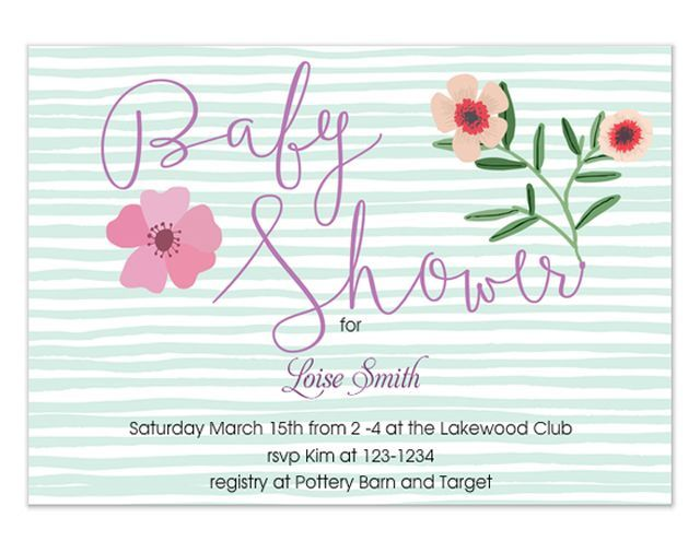 the  best online baby shower invitations ideas on, Baby shower