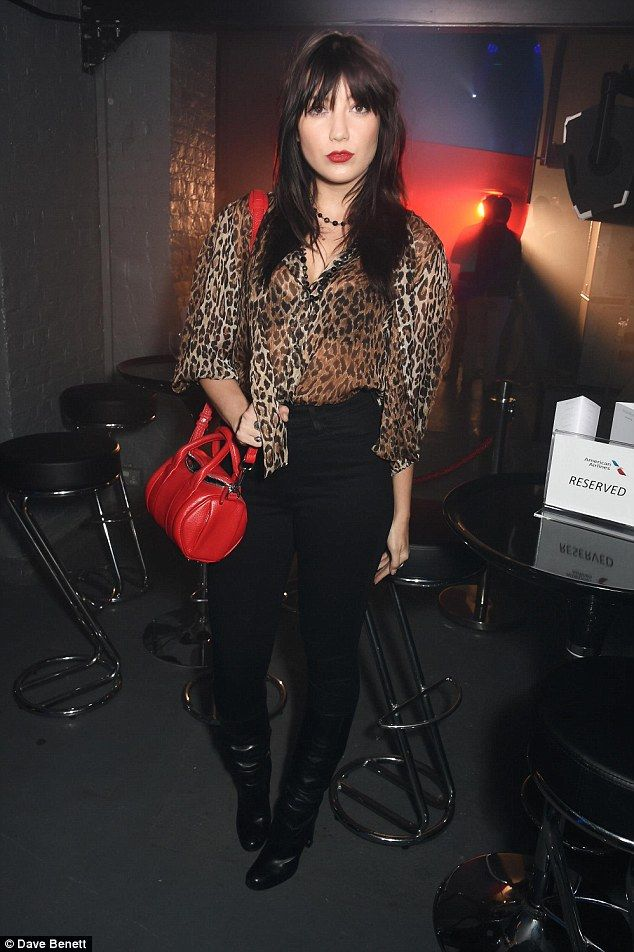 Wild thing! Daisy Lowe looked like a rockstar as she attended the American Airlines Above/...