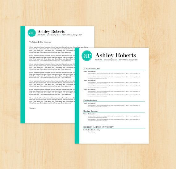 Resume Template Cv Template The Ashley Roberts By Phdpress: 17 Best Ideas About Professional Cover Letter On Pinterest