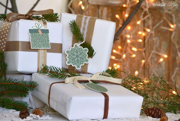 Etichette natalizie - Etiquettes thème Noël - Christmas Tags by Méli-Mélo | Graphic Design - Ph: Clelia Celentano - Visual: Cinzia Guido