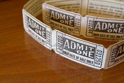 admit1 ticket vintage