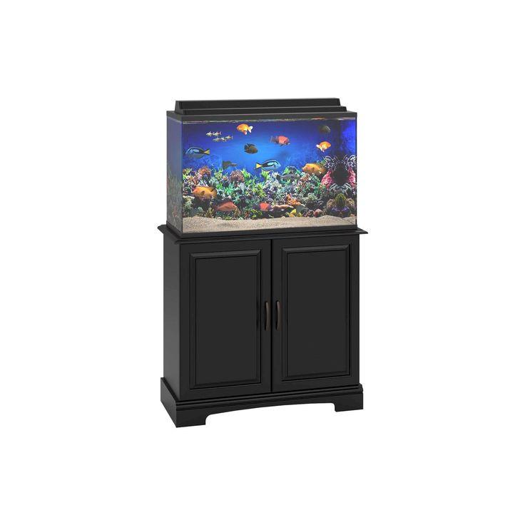 Harbor 29-37 Gallon Aquarium Stand - Black - Altra