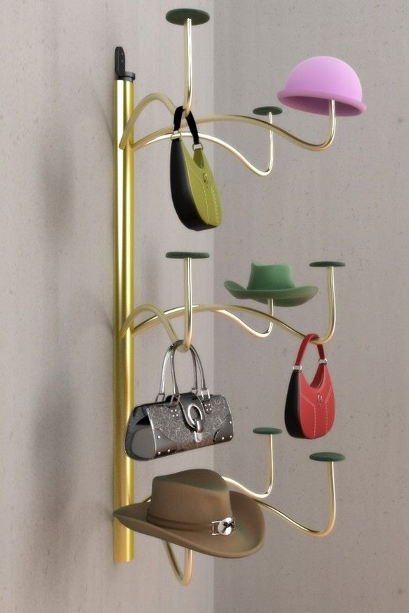 Hat Hanger Ideas Part - 30: 13+ Hat Rack Ideas, Easy And Simple For Sweet Home