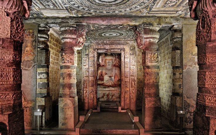 Cuevas de Ajanta, Maharashtra