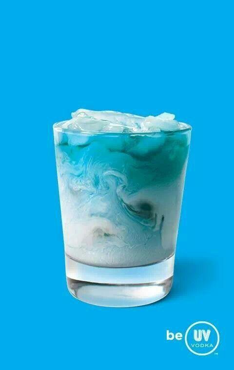 1000 Ideas About Uv Blue Drinks On Pinterest Uv Vodka