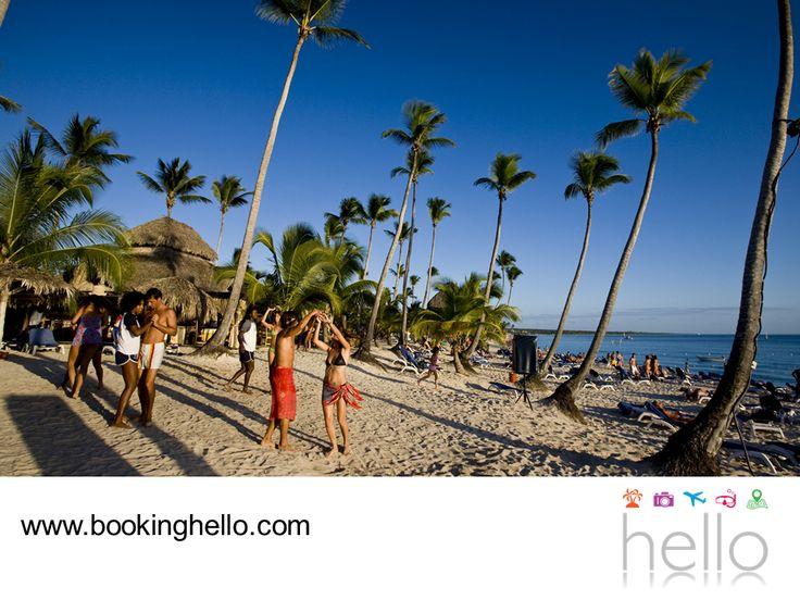 EL MEJOR ALL INCLUSIVE AL CARIBE. Sólo en Booking Hello encontrarás la mejor forma de planear las vacaciones con tus amigos y disfrutar de las playas del Caribe dominicano. Te invitamos a comenzar por elegir uno de nuestros packs y reservar en alguno de los 4 resorts Catalonia de República Dominicana, todos ubicados frente a las playas más espectaculares de la zona y con múltiples servicios. Visita nuestra página en internet www.bookinghello.com, para obtener más información.