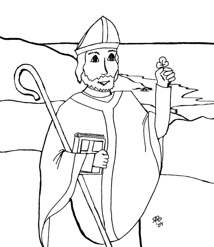 118 Best St Patrick S Day Images On Pinterest Saint Patricks St Coloring Pages Religious