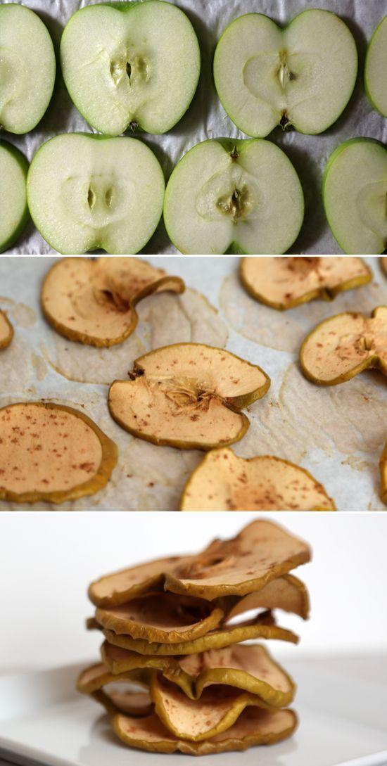 Homemade Cinnamon Apple Chips