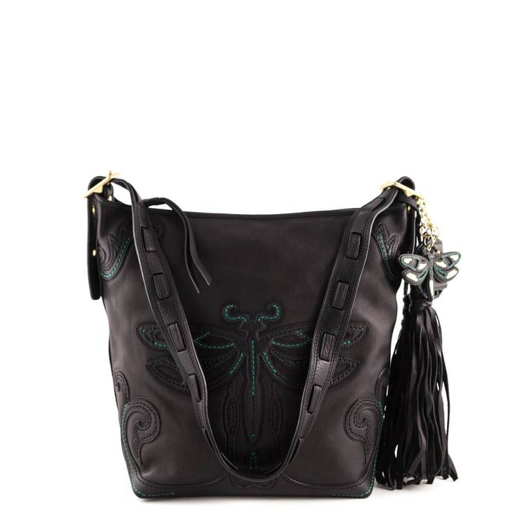 Coach x Anna Sui Black Dragon Fly Duffle - LOVE that BAG - Preowned Authentic Designer Handbags