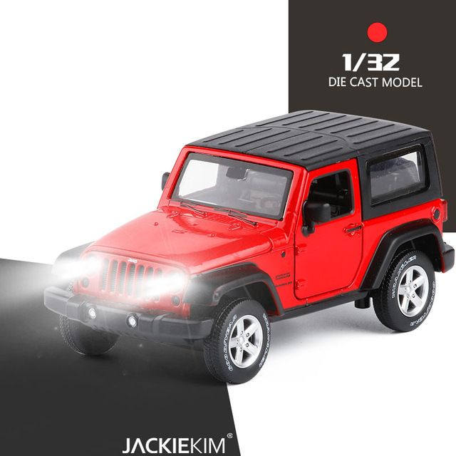 High Simulation Exquisite Model Toys Model Jeep Wrangler Rubicon