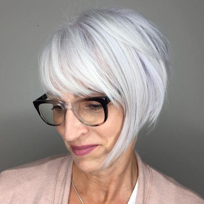 17++ Coiffure courte avec lunettes inspiration