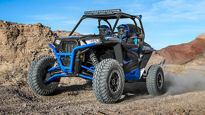 2015 Polaris RZR XP 1000 EPS Havasu Red Pearl : Features