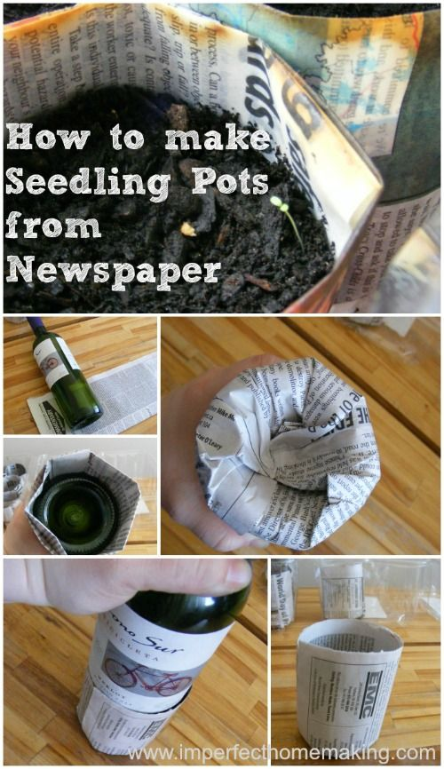 The Complete Guide to Imperfect Homemaking-DIY seeding pots