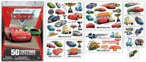 Disney Cars (50 tatoeages - €9,90 + €1 verzendkosten -gratis vanaf €10)
