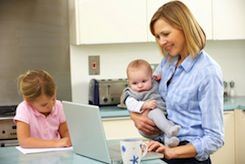 Managing time in today's hectic world is no easy feat, especially for moms who pull double-duty as career women.
