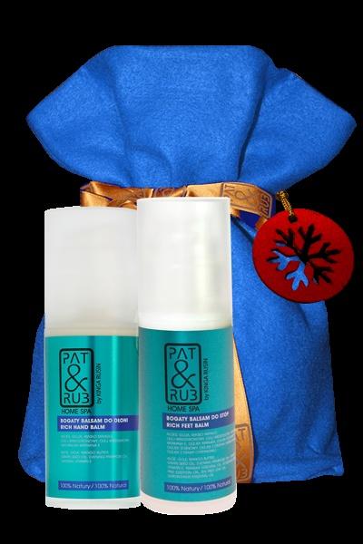 Home #Spa dla dłoni i stóp. #Kosmetyki naturalne do domowej pielęgnacji z mocą rytuałów SPA: bogaty balsam do dłoni oraz bogaty balsam do stóp z linii HOME SPA PAT&RUB