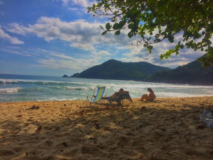 Brasil - Entardecer na Praia do Sono