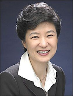 Park Geun-hyePark Geun-hye, born 2 February 1952, is the eleventh and current President of South Korea. She is the first woman to be elected as President in South Korea, and is serving the 18th presidential term. She also is the first woman head of state in modern history of Northeast Asia.