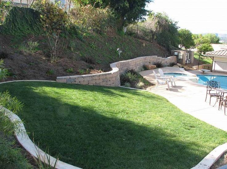 37 best sloped back yards images on pinterest backyard for Garden design level 3