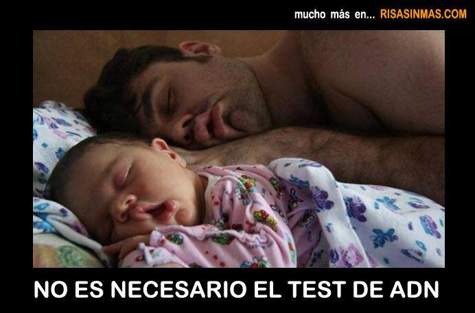 No es necesario el test de ADN.