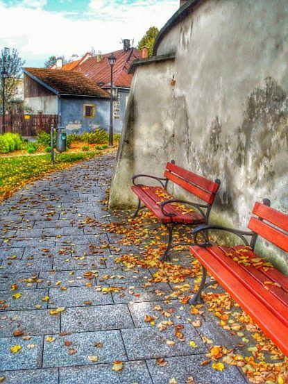 Stary Sącz ...jesien