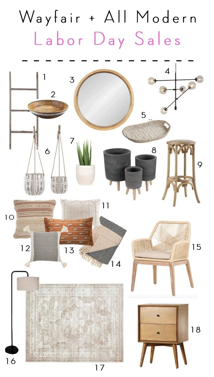 Wayfair Allmodern Big Labor Day Sales Becki Owens In 2020 At Home Furniture Store Yellow Home Accessories Amazon Home Decor
