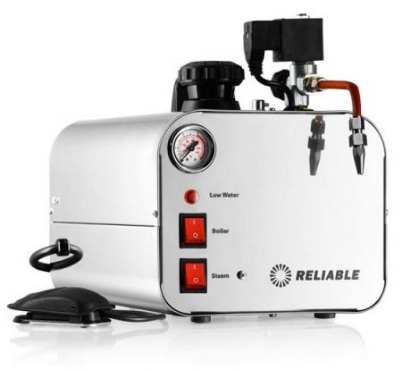 The Reliable i500A commercial use Jewelry and Jewelers use Steam Vapor Cleaner