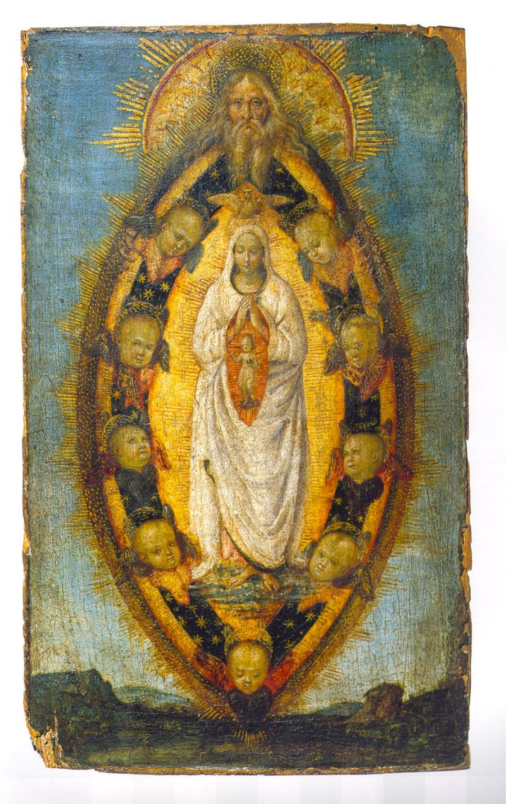 "rossodimarte:Anonymous from Umbria, ""The Immaculate Conception"", 1510 ca.Nationalmuseum Stockholm"