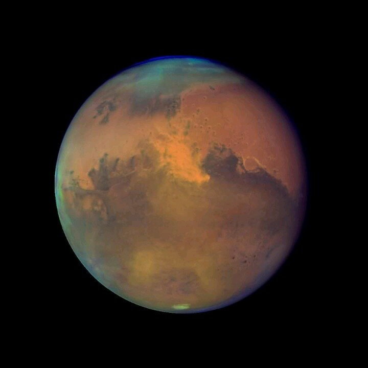 hubble telescope weird thing in mars - photo #14
