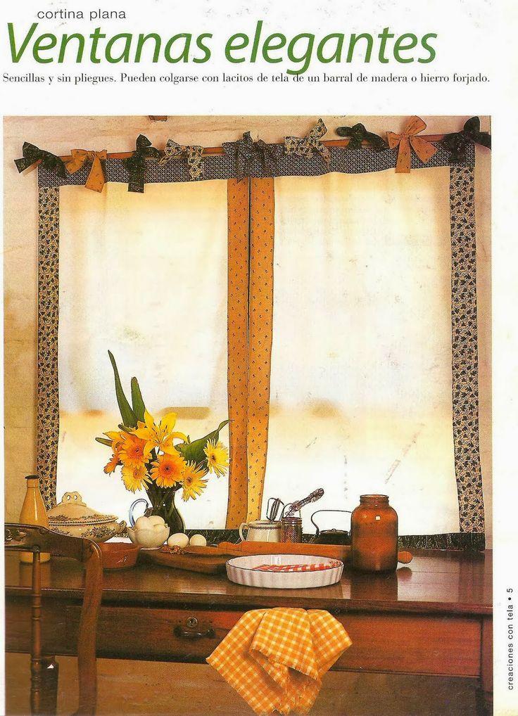 M s de 1000 ideas sobre hacer cortinas en pinterest - Como confeccionar estores ...