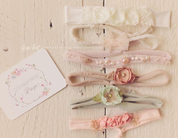 Baby headbands photo props see more tiebacks