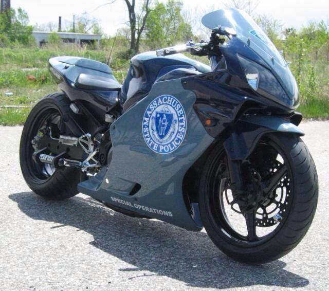 Massachusetts State Police Honda CBR F4i