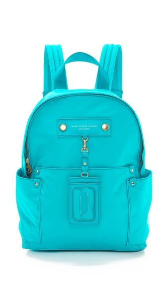 Marc by Marc Jacobs - #Turquoise Preppy Nylon Backpack