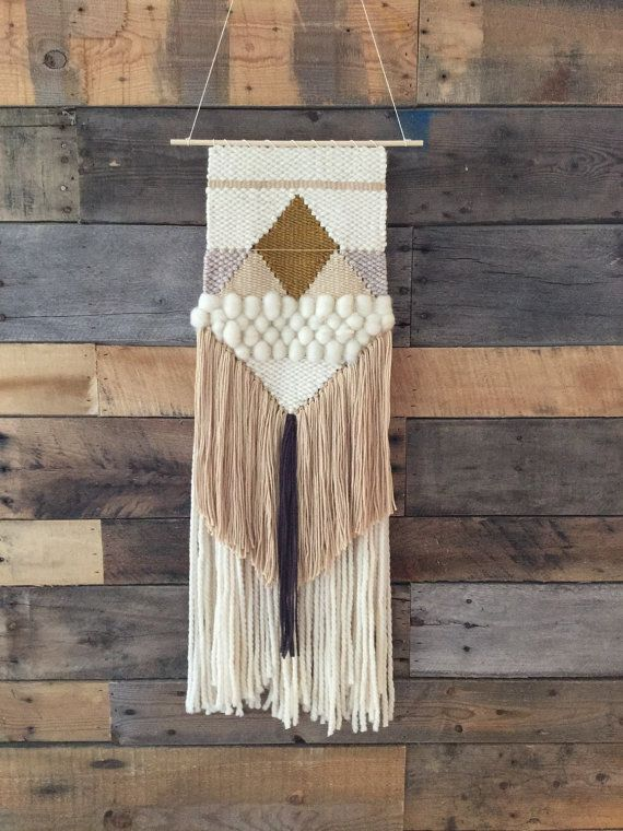 74 best Wall hanging 2 images on Pinterest   Weaving, Tapestry ...