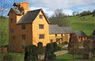 Allt-y-bela - bed & breakfast in Wales - fabulous listed farmhouse - Monmouthshire