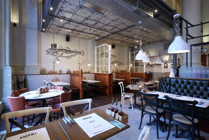 2015 Restaurant & Bar Design Award Winners Announced,George's Fish & Chip Kitchen; United Kingdom / Philip Watts Design. Image Courtesy of The Restaurant & Bar Design Awards