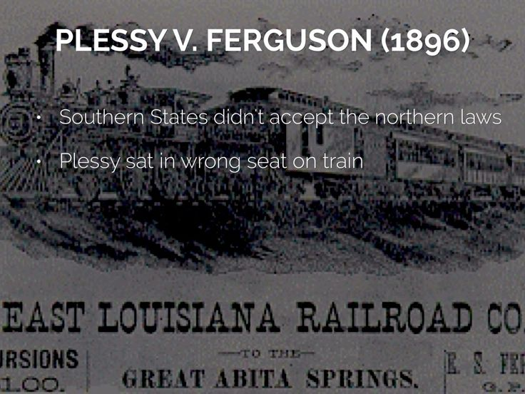 25+ best ideas about Plessy v ferguson on Pinterest | American ...