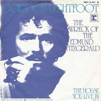 Gordon Lightfoot single, click for larger image
