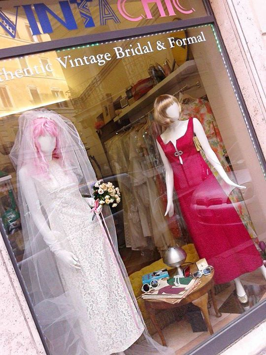 OUR #1960s DISPLAY WINDOW
