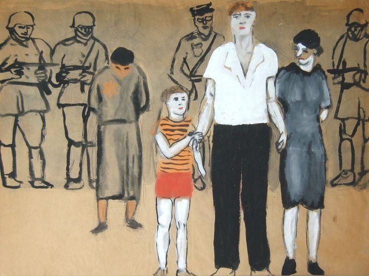 Wróblewski Andrzej - Rozstrzelanie 1948, Galeria Fibak