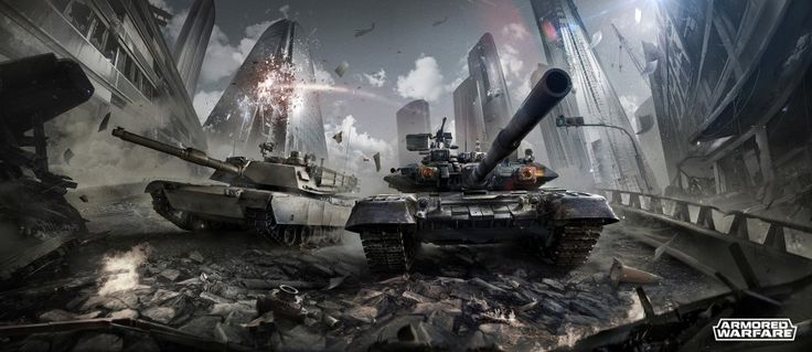 Armored Warfare новая танковая онлайн игра 2015 года