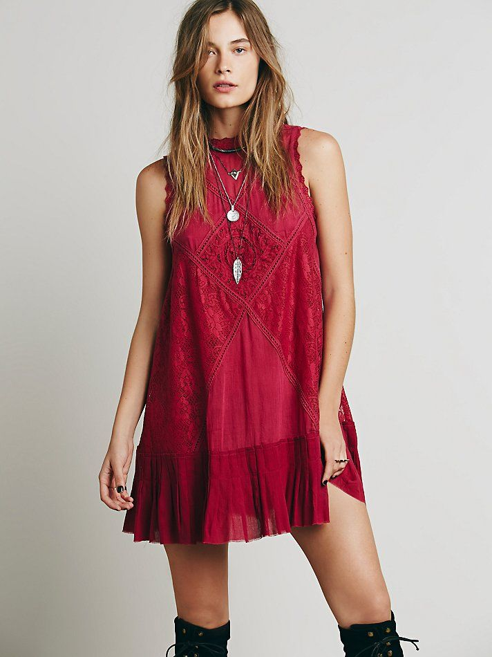 Beat Of My Heart Dress in Black. - size L (also in M,S,XS) Free People